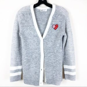 Girls H&M Boyfriend Cardigan sz 10-12